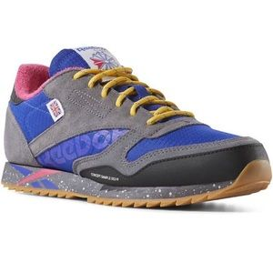 Reebok CLASSIC LEATHER RIPPLE ALTERED SHOES Size 5